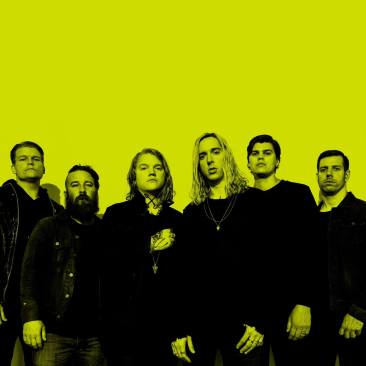 An image of the band, Underoath.