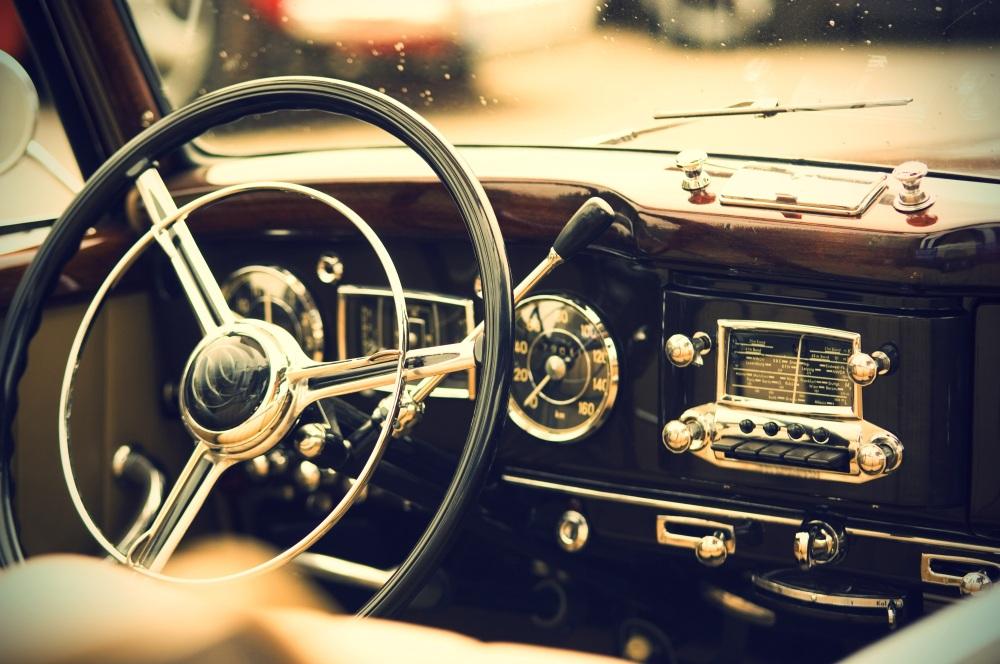 Car radio.