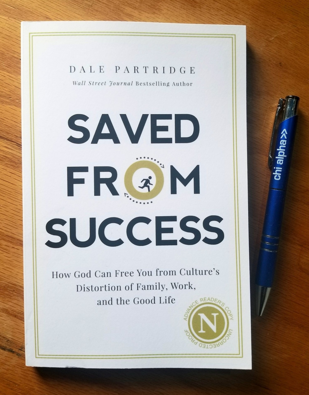 Saved from Success book